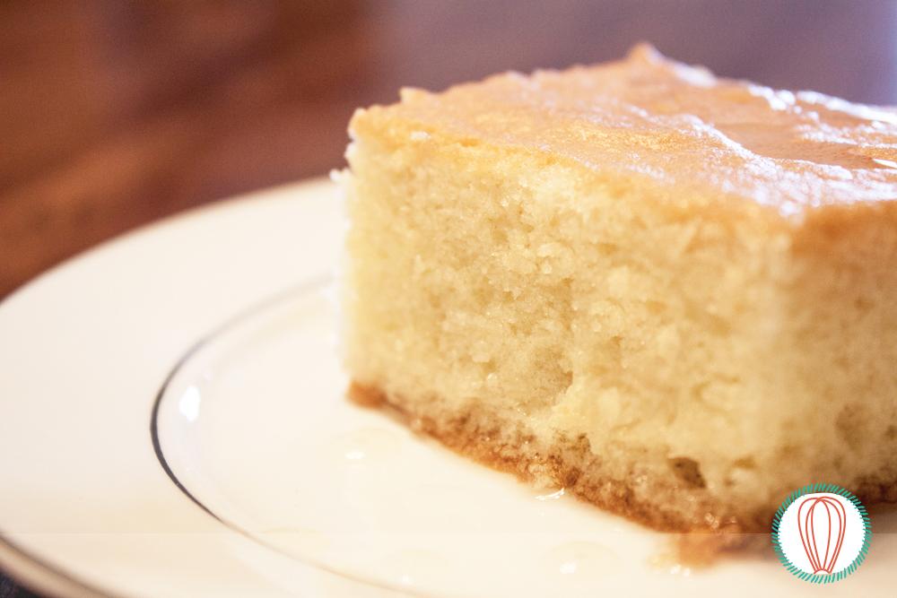 Borracho Rum Soaked Sponge Cake