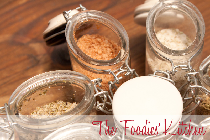 Seasoning Salts for Mother's Day