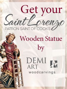 St. Lorenzo statues at DemiART - Italy