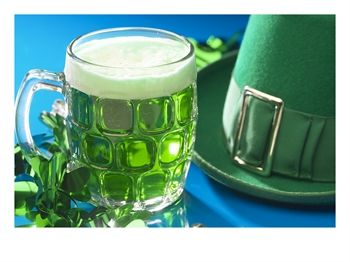 020225_1338_0005_lshsmug-of-green-beer-beside-green-st-patrick-s-day-decorations-posters