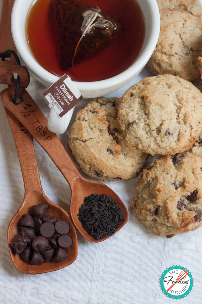Tea Infused Choc Chip Cookies12
