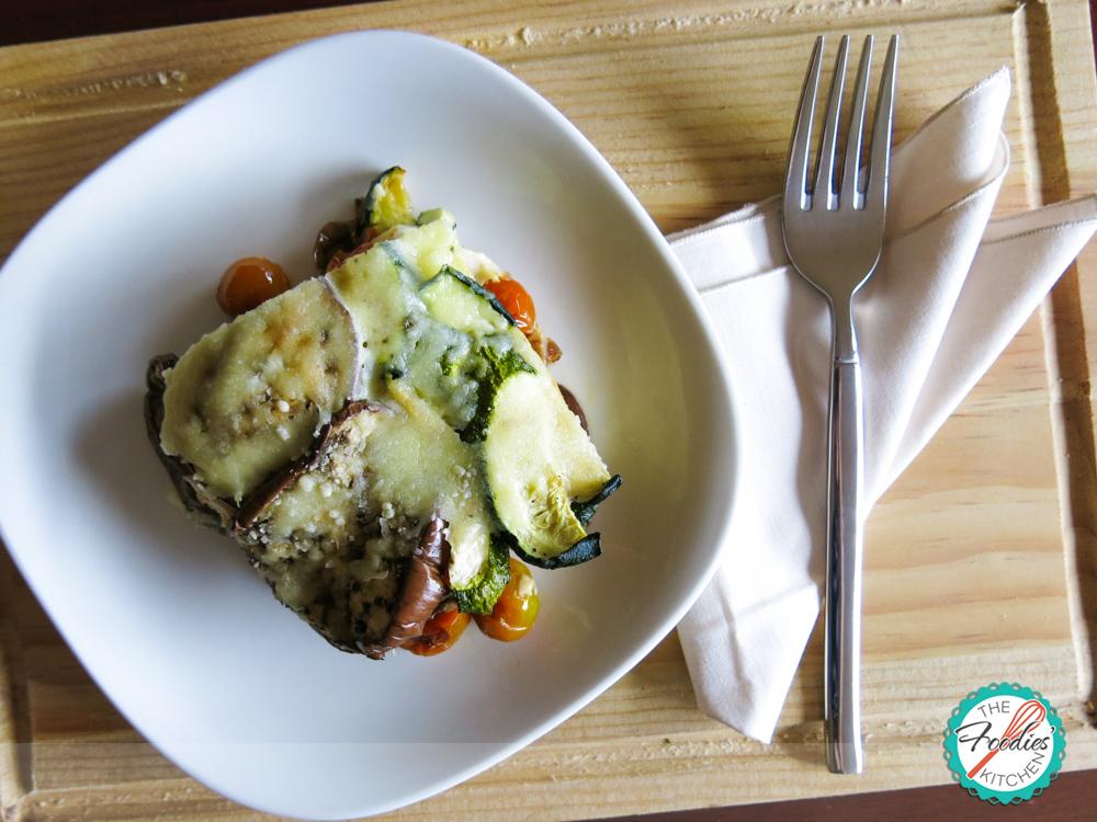 Roasted Eggplant & Zucchini Lasagna