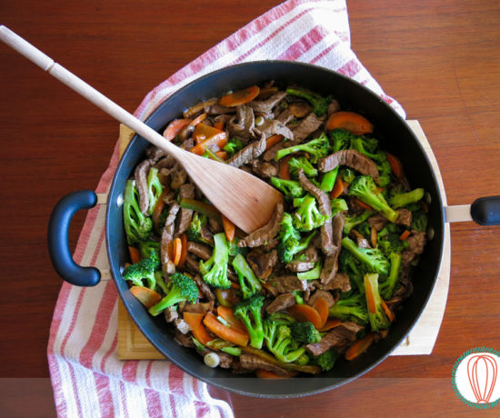 Ginger Beef Stirfry01