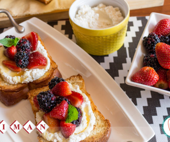 Grilled-Brioche-with-Berries