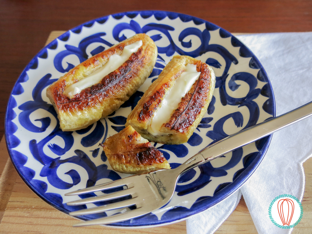Guatemalan recipes baked ripe plantains with cheese forumfinder Images