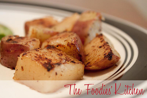 Browned Red Potatoes