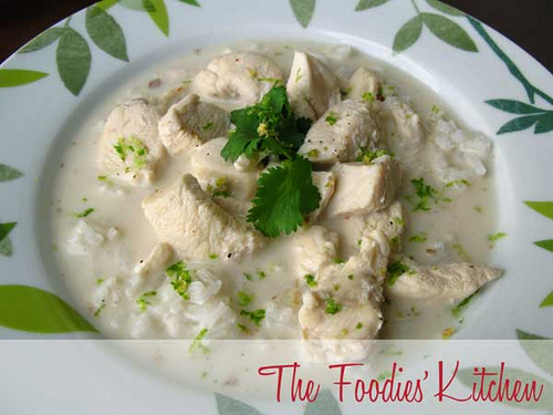 Caribbean Chicken with Coconut Milk