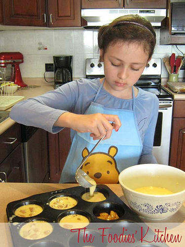 Cooking with Kids Baked Apple Pancakes