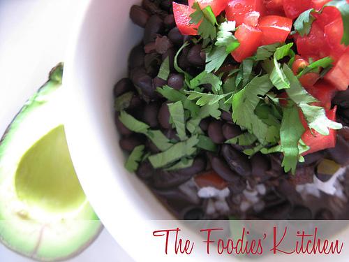 Cuban Black-Bean Stew with Rice