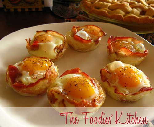 Egg & Bacon Bundles