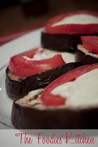 Grilled Eggplant a la Italian
