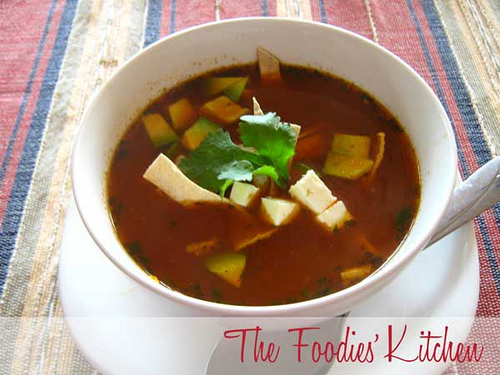 Guest Foodie Edith Paiz & Authentic Tortilla Soup