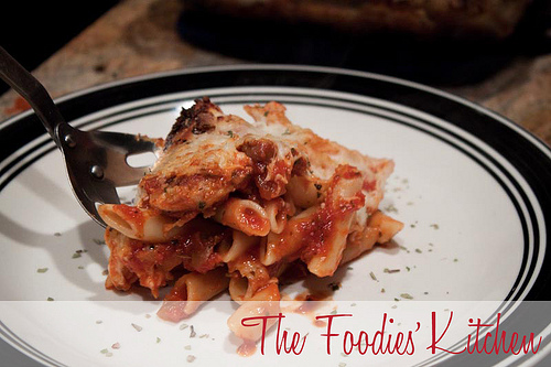 Guest Foodie Jake Van Ness Chicken Pasta