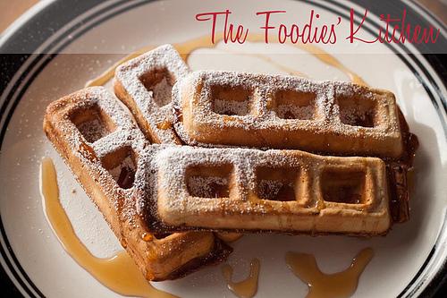 Guest Foodie Jake Van Ness & Chocolate Waffles