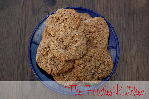 Oatmeal Whiskey Cookies