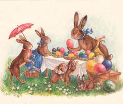 Easter Bunny Origins | The Foodies' Kitchen