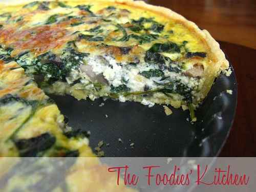 Spinach and Feta Cheese Tart