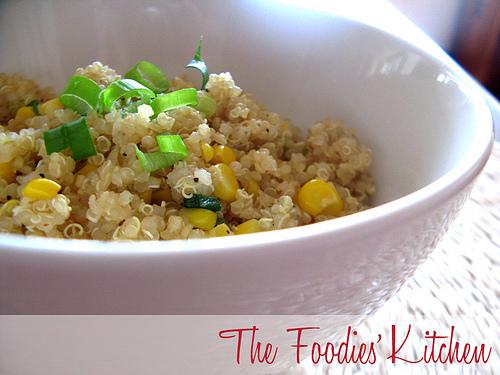 Sweet Corn & Quinoa