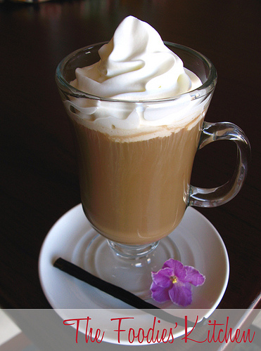 Vanilla Infused Coffee
