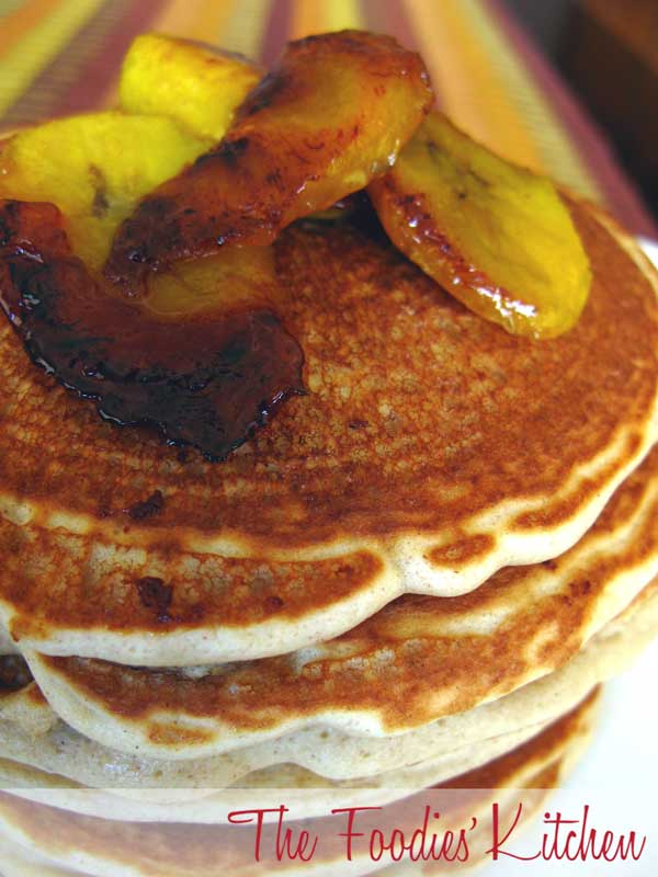 Caramelized Plantains Pancake